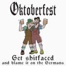 Funny Oktoberfest Drinking by HolidayT-Shirts