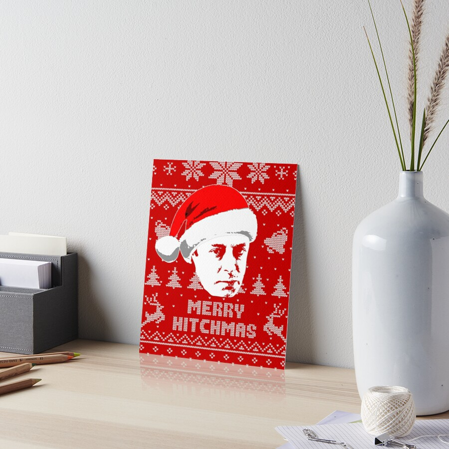 Christopher Hitchens Merry Hitchmas Ugly Christmas Sweater