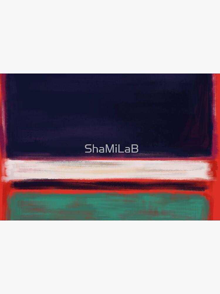 Rothko Inspired #12 by ShaMiLaB