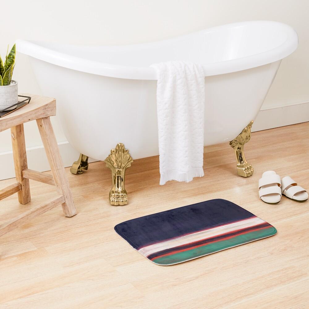 Rothko Inspired #12 Bath Mat