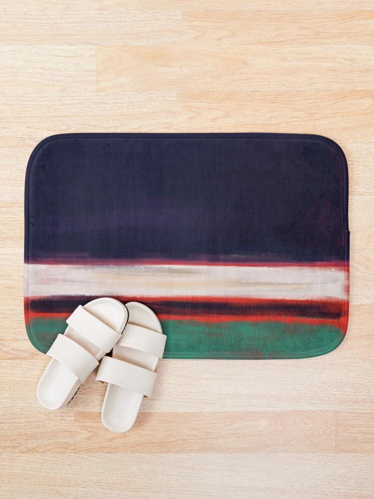 Alternate view of Rothko Inspired #12 Bath Mat