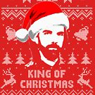Billy Mitchell King Of Christmasf Ugly Christmas Sweater von idaspark