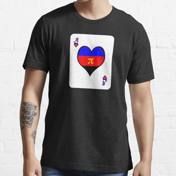 Ace Spectrum Playing Cards: Polyamory Essential T-Shirt