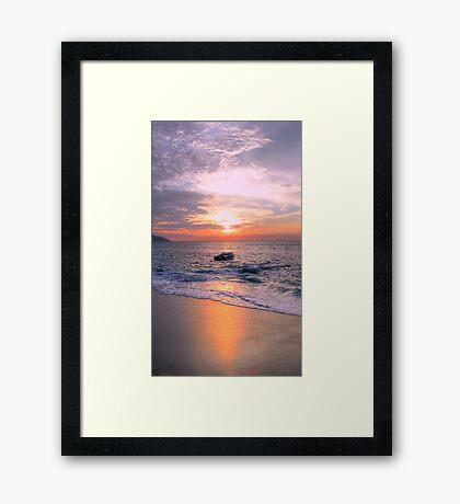 Penang Pinings Framed Print