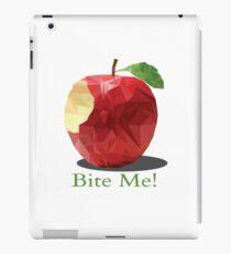 Bite me apple design iPad Case/Skin