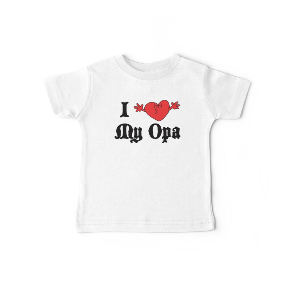 I Love My Opa by HolidayT-Shirts