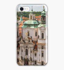 Prague city scape iPhone Case/Skin