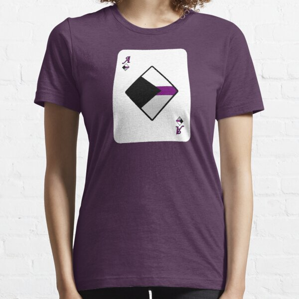 Ace Spectrum Playing Cards: Demisexual Essential T-Shirt