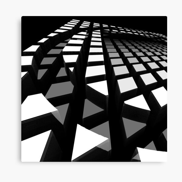 Squares squares squares Canvas Print