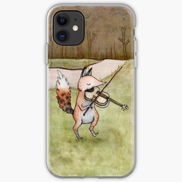Violin Fox iPhone Soft Case