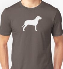American Pit Bull Terrier Silhouette(s) T-Shirt