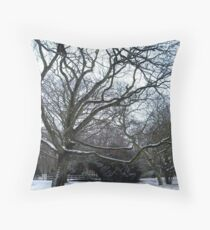 Bleak scene Throw Pillow