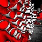Tubes in red by andreisky