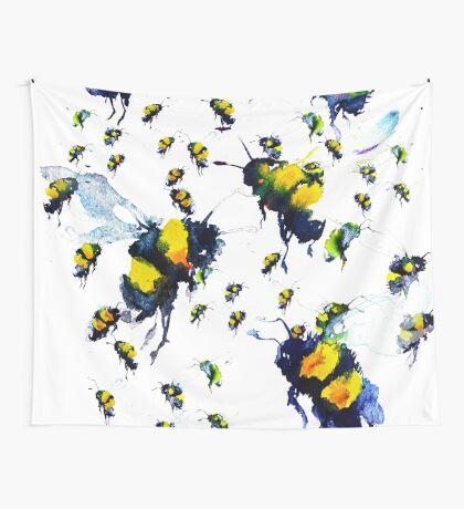 BAANTAL / Pollinate / Bees Wall Tapestry