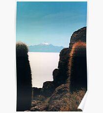 Salar de Uyuni, Bolivian salt flats Poster