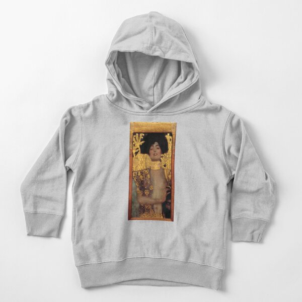 Judith and the Head of Holofernes (also known as Judith I) is an oil painting by Gustav Klimt created in 1901. It depicts the biblical character of Judith Toddler Pullover Hoodie