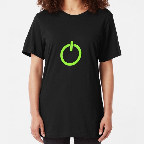 Power Up! Slim Fit T-Shirt