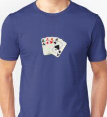 Deck of Lucky Ace Cards - Poker T-shirt Sticker Unisex T-Shirt