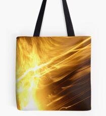 Fire: Long Exposure Tote Bag
