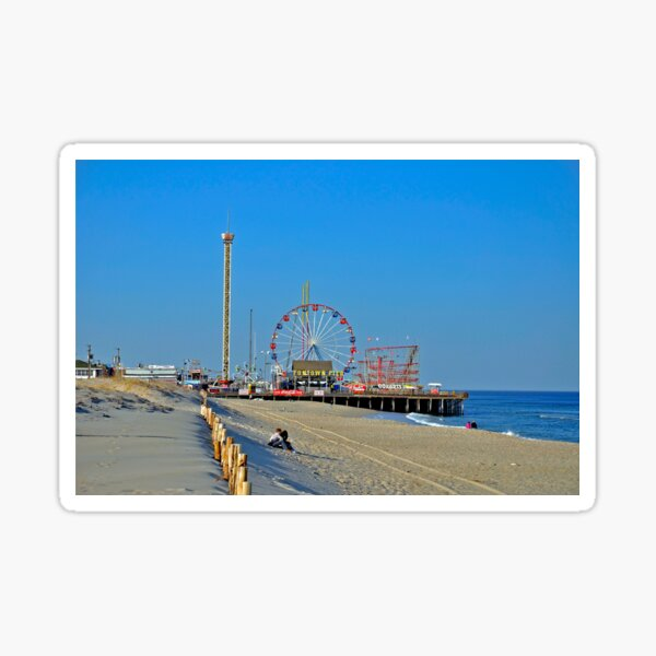 Summer Fun - Funtown Pier Seaside Heights NJ Sticker