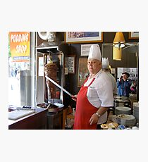 Doner Kebab Chef Photographic Print