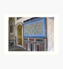 Topkapi Palace Wall Art Print