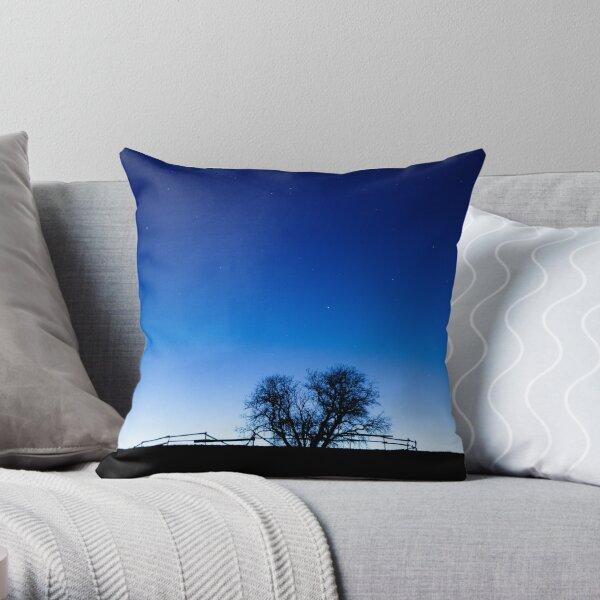 Twilight corral Throw Pillow