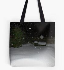 Winter Snow Tote Bag