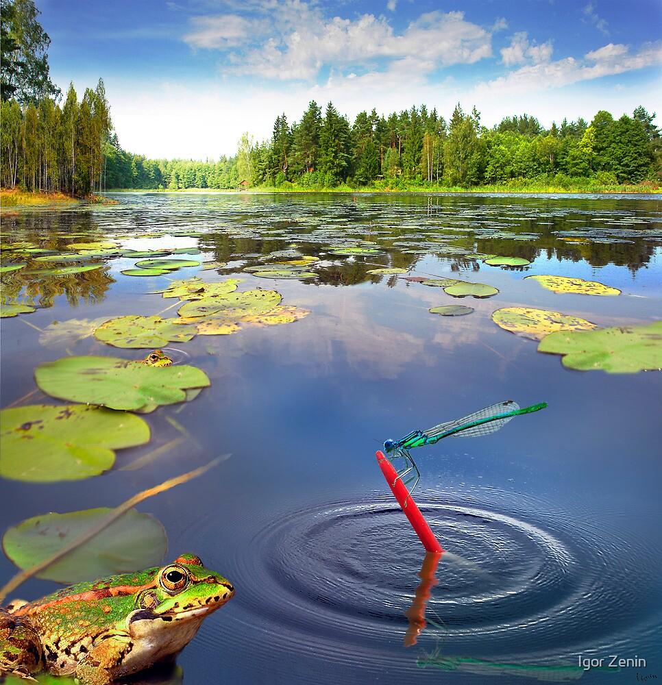 Fishing Breakfast by Igor Zenin