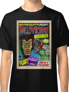 Hallowscream! 2014 Front Cover (official) Classic T-Shirt