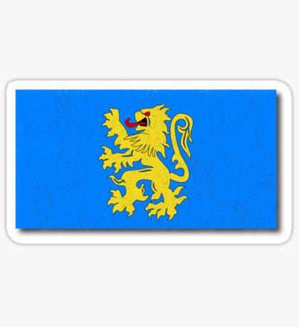 Apartment Flag Sticker