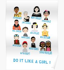 Do it like a girl! Poster