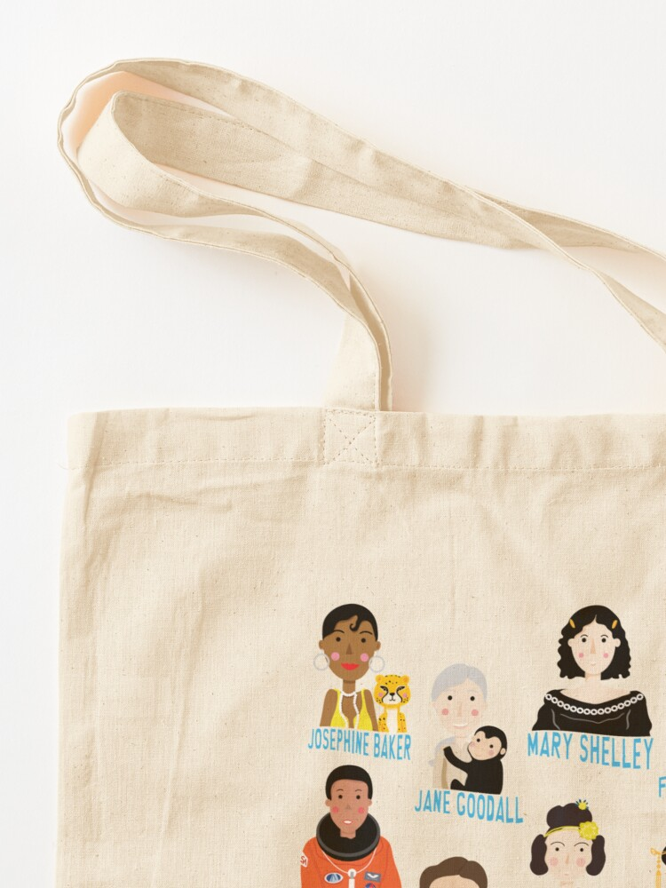 Tote bag ''Do it like a girl!': autre vue