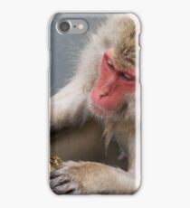 Monkey Onsen iPhone Case/Skin
