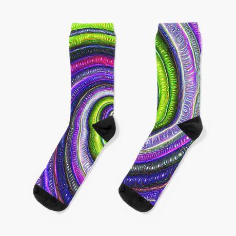 Source #DeepDream #Art Socks
