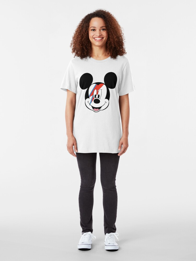 Alternate view of Mouse From Mars Slim Fit T-Shirt