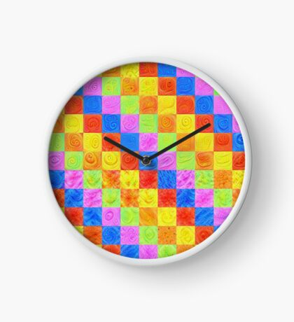 #DeepDream color factures Clock