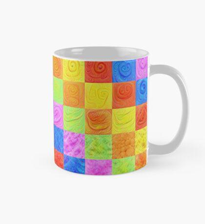 #DeepDream color factures Mug