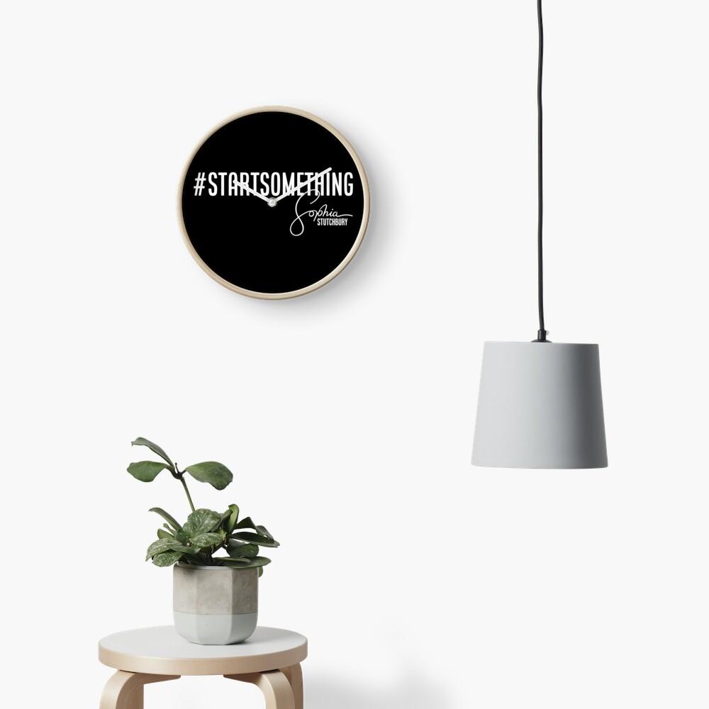 Sophia Stutchbury #STARTSOMETHING Clock