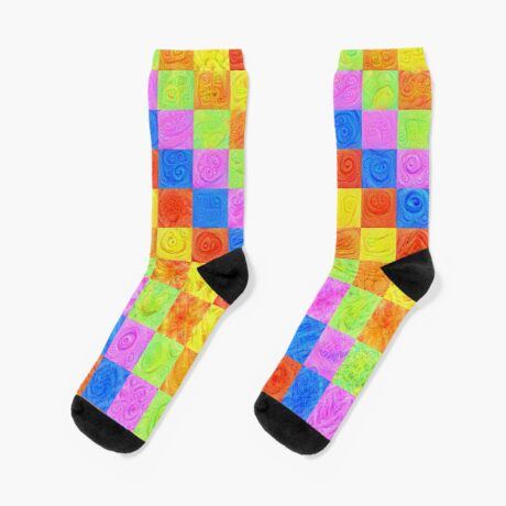 #DeepDream color factures Socks