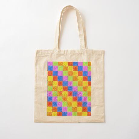 #DeepDream color factures Cotton Tote Bag