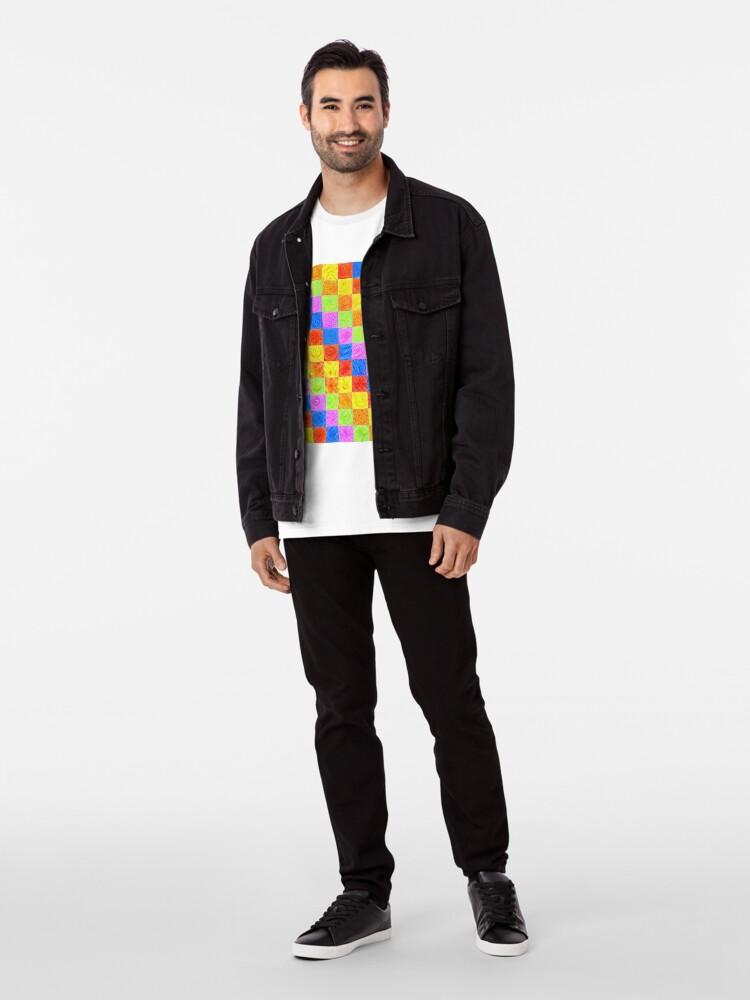 Alternate view of #DeepDream color factures Premium T-Shirt