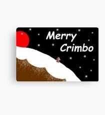 Merry Crimbo Canvas Print