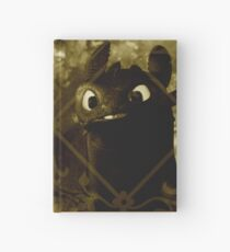 Toothless the night fury Hardcover Journal