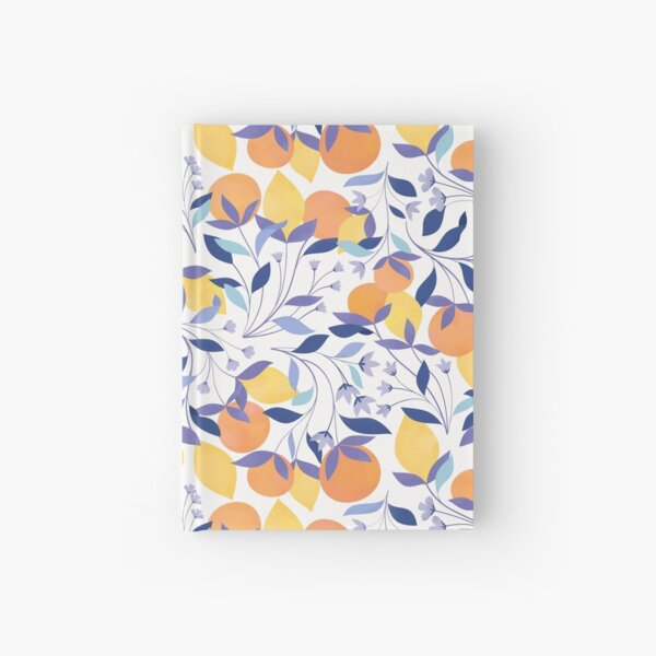 Oranges and Lemons Hardcover Journal