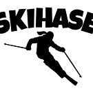Skihase (Schwarz) Apres Ski Skihasen von theshirtshops