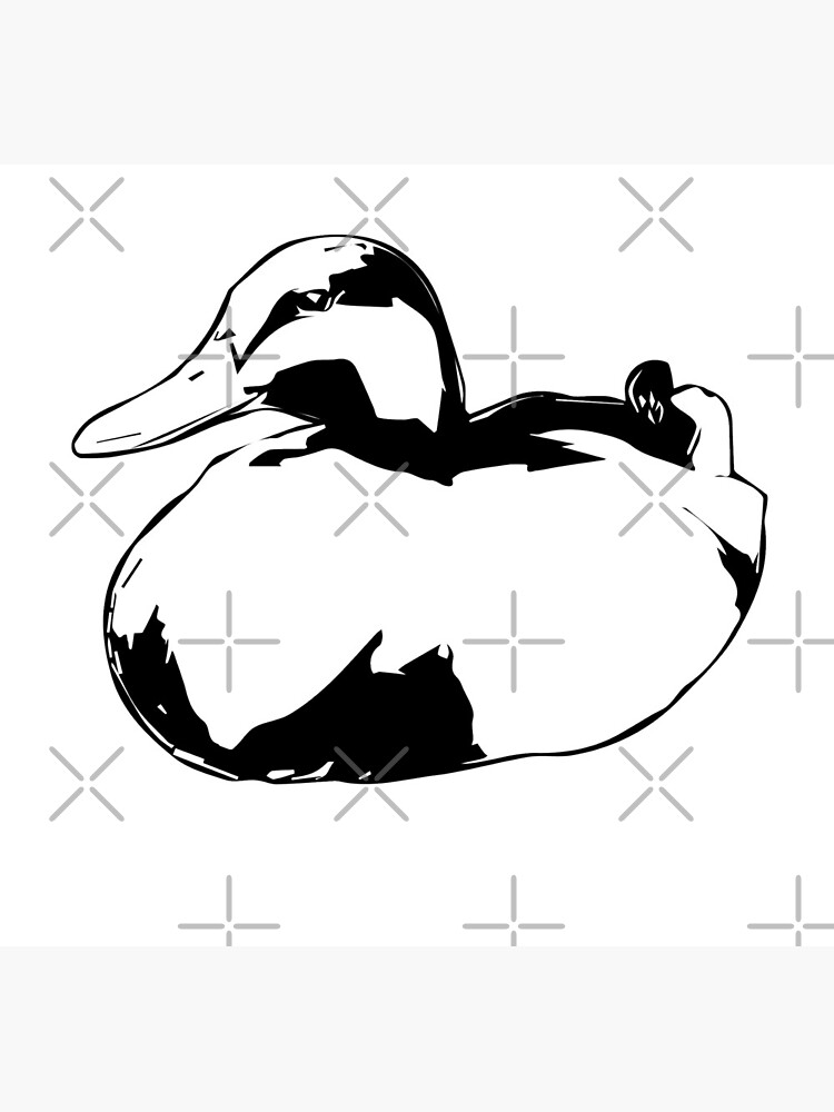 Sitting Duck by tribbledesign