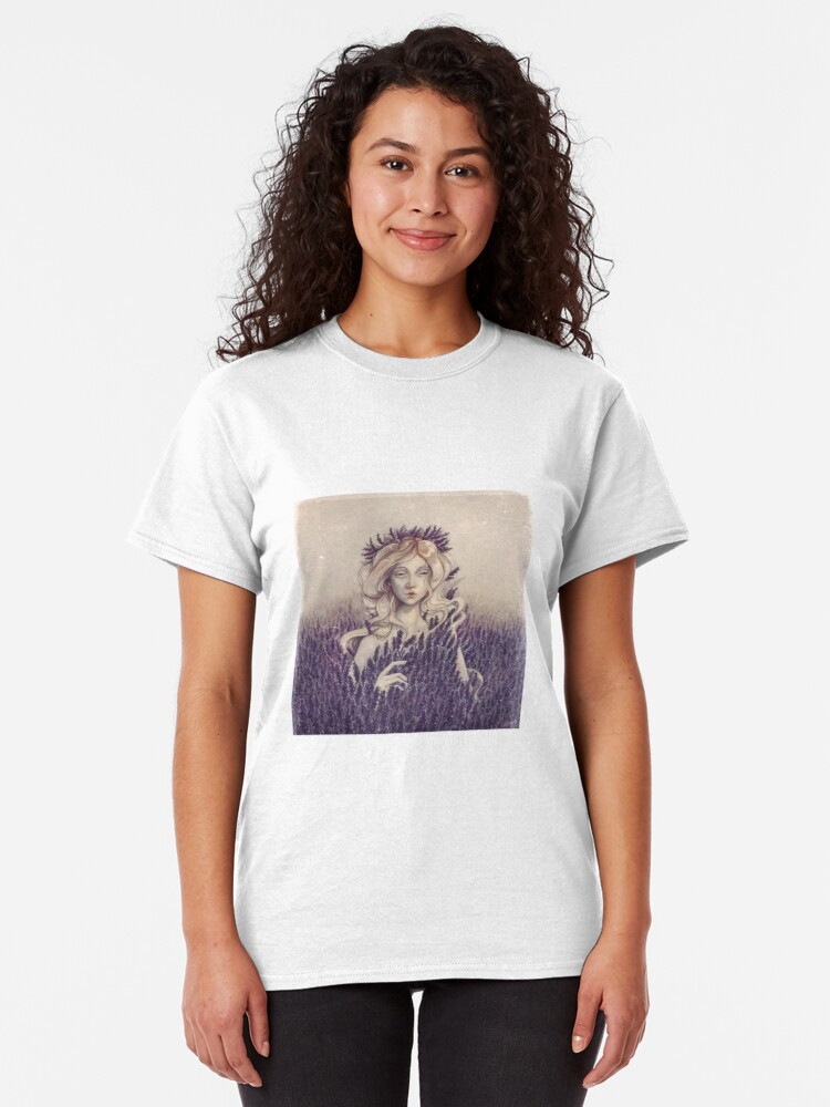 Alternate view of Lavender Classic T-Shirt
