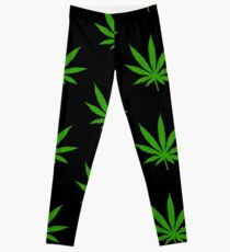 Marihuana-Blatt Leggings