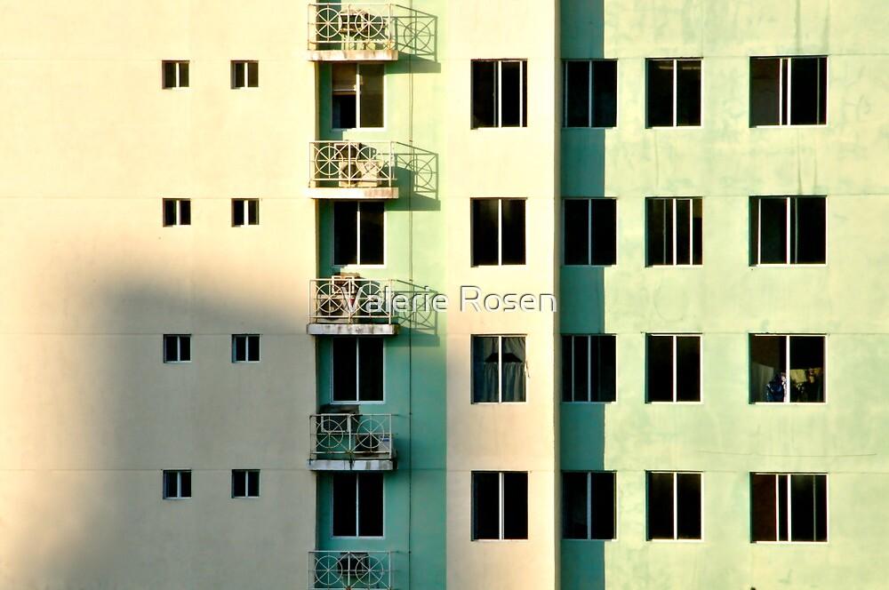 Five Balconies  by Valerie Rosen